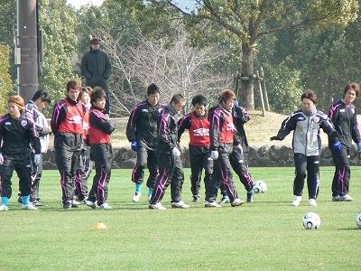 鹿児島キャンプ G大阪戦